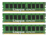 Kingston, 24GB 1333MHz DDR3 ECC CL9 DIMM (Kit of 3)