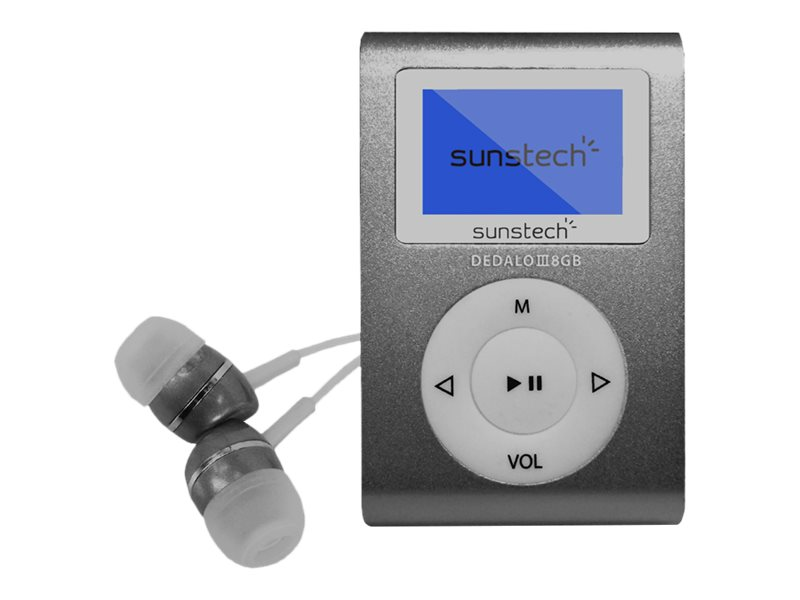 SUNSTECH DEDALOIII - REPRODUCTOR DIGITAL - 8 GB -