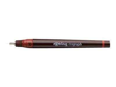 Rotring Isograph - Stylo technique - noir - fin - différentes largeur de pointe