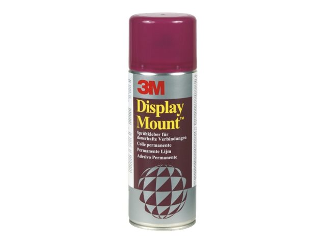 3M DisplayMount - Bombe colle aérosol - Transparent - Permanent - 400 ml