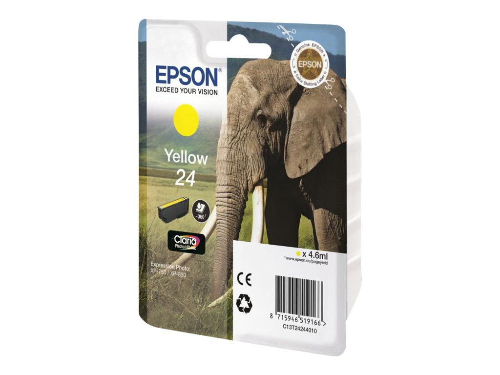 Epson 24 - jaune - originale - cartouche d'encre