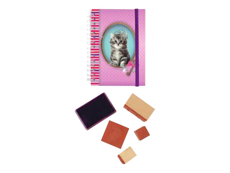 Oberthur Fun Kitten Pretty - cahier