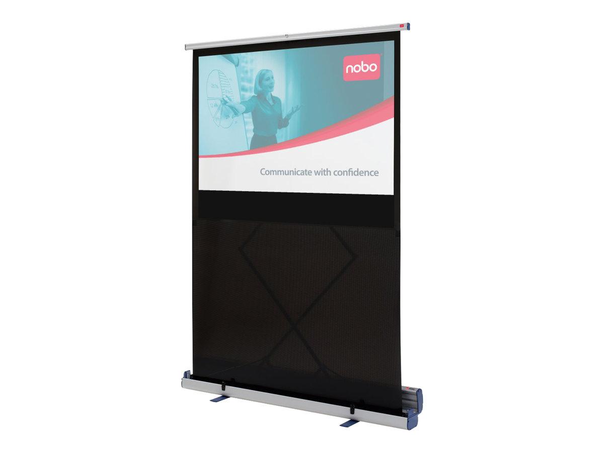 NOBO écran de projection avec support de pose au sol