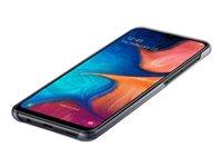 Samsung Gradation Cover EF-AA205 - Carcasa trasera para teléfono móvil - negro