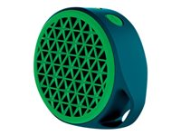 Bocina LOG X50 Verde Bluetooth/3.5mm Recargable 5hrs 3W