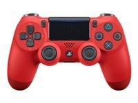 Sony Dual Shock 4 v2 Gamepad trådløs Bluetooth magma (rød)