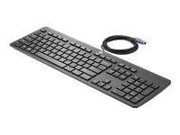 HP Business Slim - Keyboard - PS/2 - US - bulk - for HP t730; EliteDesk 800 G2; EliteOne 800 G2; ProOne 400 G2; Workstation Z240