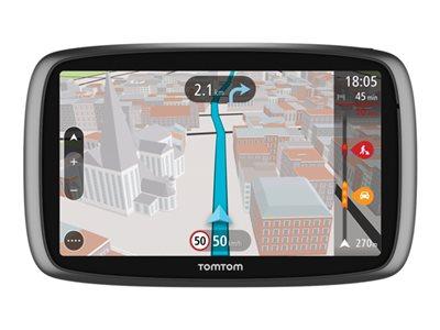 TomTom TRUCKER 6000 - GPS navigace - automobil 6 palec širokoúhlá obrazovka