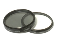 Sunpak PicturePlus Ultraviolet UV and Circular Polarizer C-POL Twin Pack