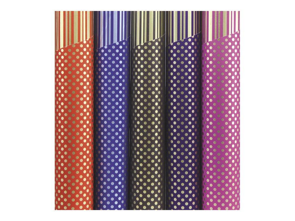 Clairefontaine Recto verso - Papier cadeau - 70 cm x 2 m - 80 g/m2 - disponible dans différentes couleurs