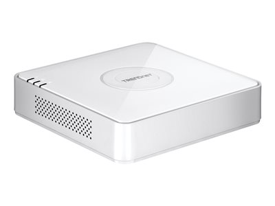 TRENDnet TV-NVR104D2 - Standalone NVR - 4 channels - 1 x 2 TB - networked