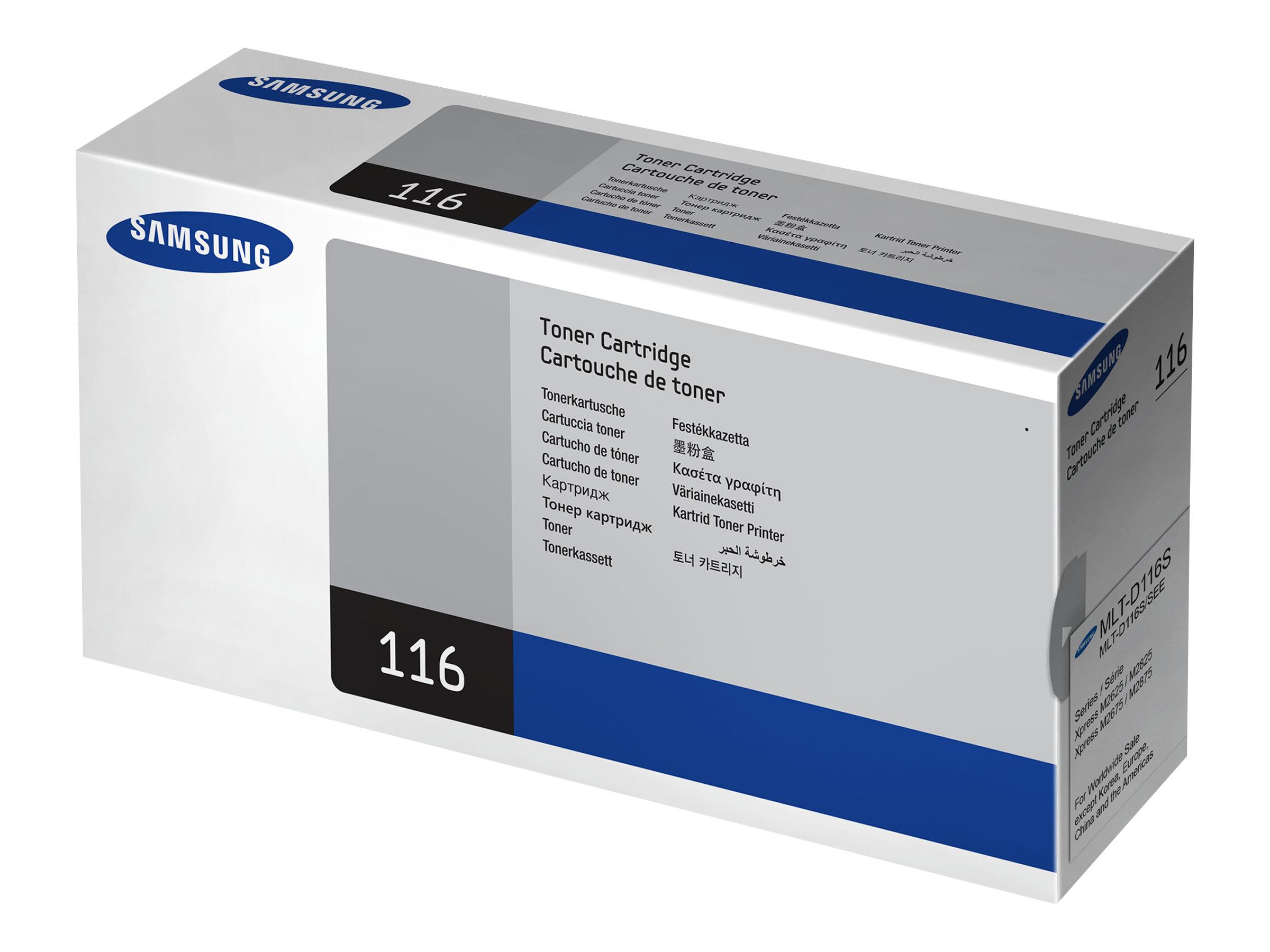 Samsung MLT-D116S - noir - originale - cartouche de toner