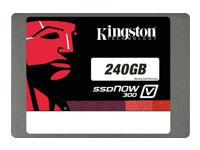 "Kingston SSDNow V300 Solid state drive 240 GB intern 2.5"" SATA 6Gb/s"