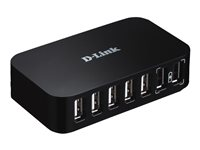 D-Link HUB 7 ports USB 2.0 Plug and Play