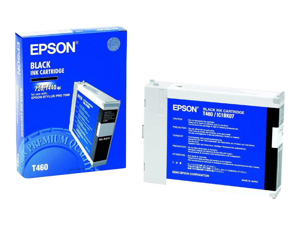 Epson T 460 - noir - originale - cartouche d'encre