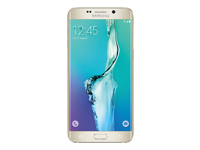 Samsung Galaxy S6 edge+ - SM-G928F - or platine - 4G LTE - 32 Go - GSM - Android smartphone