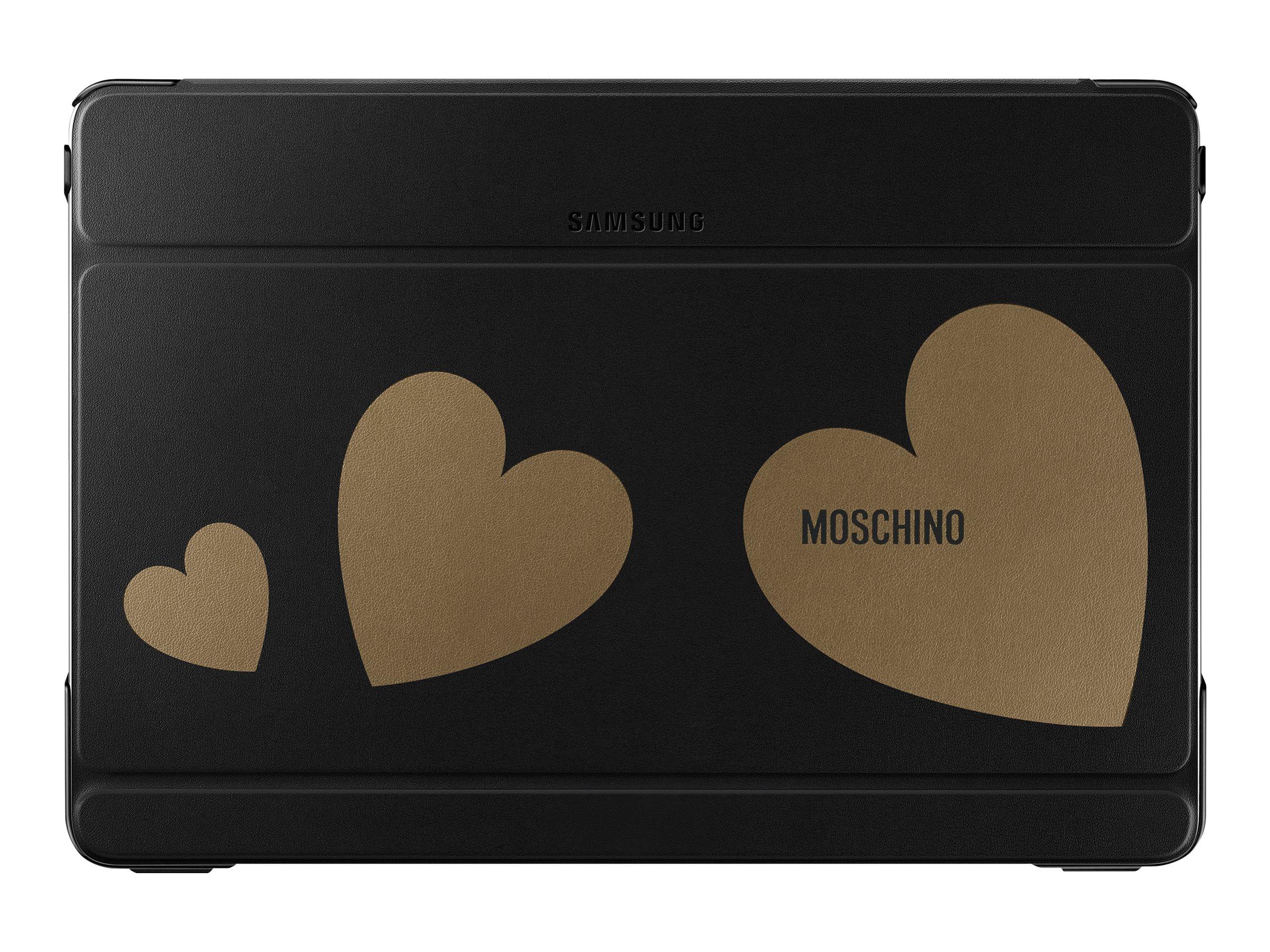 Samsung Book Cover EF-EP900B - Moschino Edition vippedeksel for nettbrett EF-EP900BGEGWW