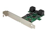 StarTech.com Carte controleur multiplicateur de port - 5 ports SATA vers 1 port SATA III 6 Gb/s - Adaptateur disque dur 5:1