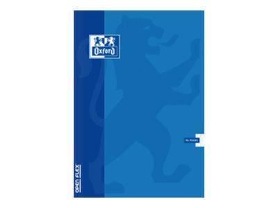 Oxford School OpenFlex - Cahier polypro - 24 x 32 cm - 100 pages - Grands carreaux - disponible dans différentes couleurs