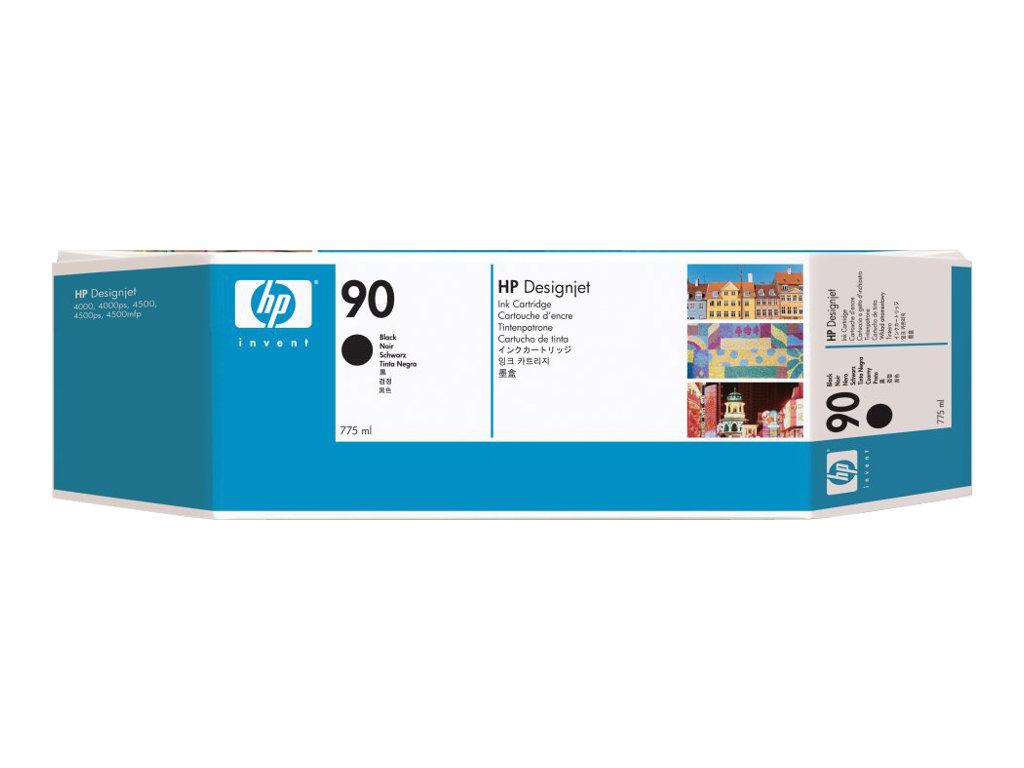 HP 90 - noir - originale - cartouche d'encre