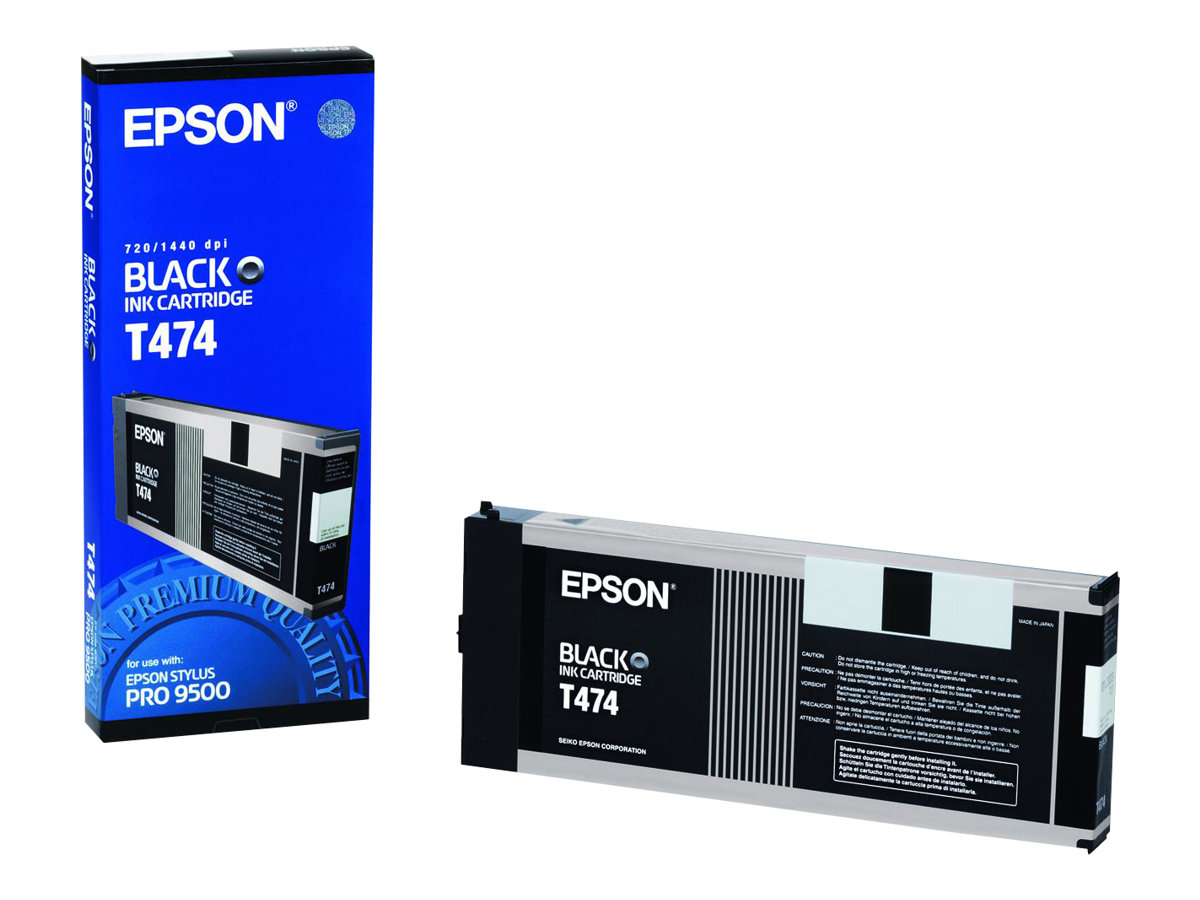 Epson T474 - noir - originale - cartouche d'encre