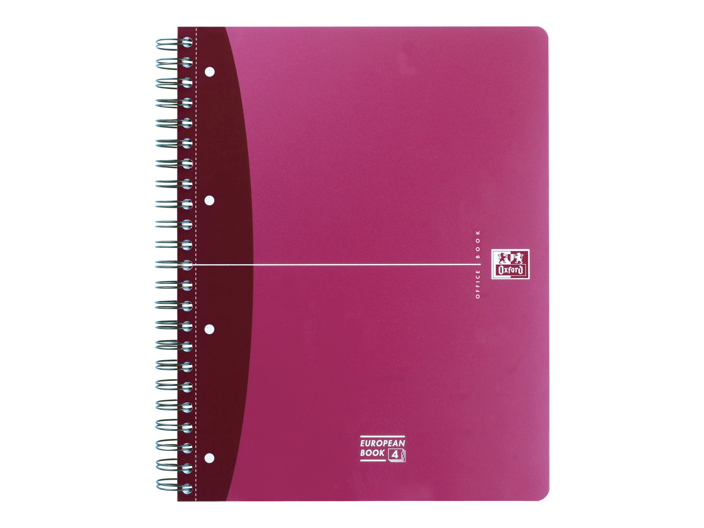 Oxford Office Europeanbook A4+ - Cahier - 240 pages - Seyès - Grands carreaux