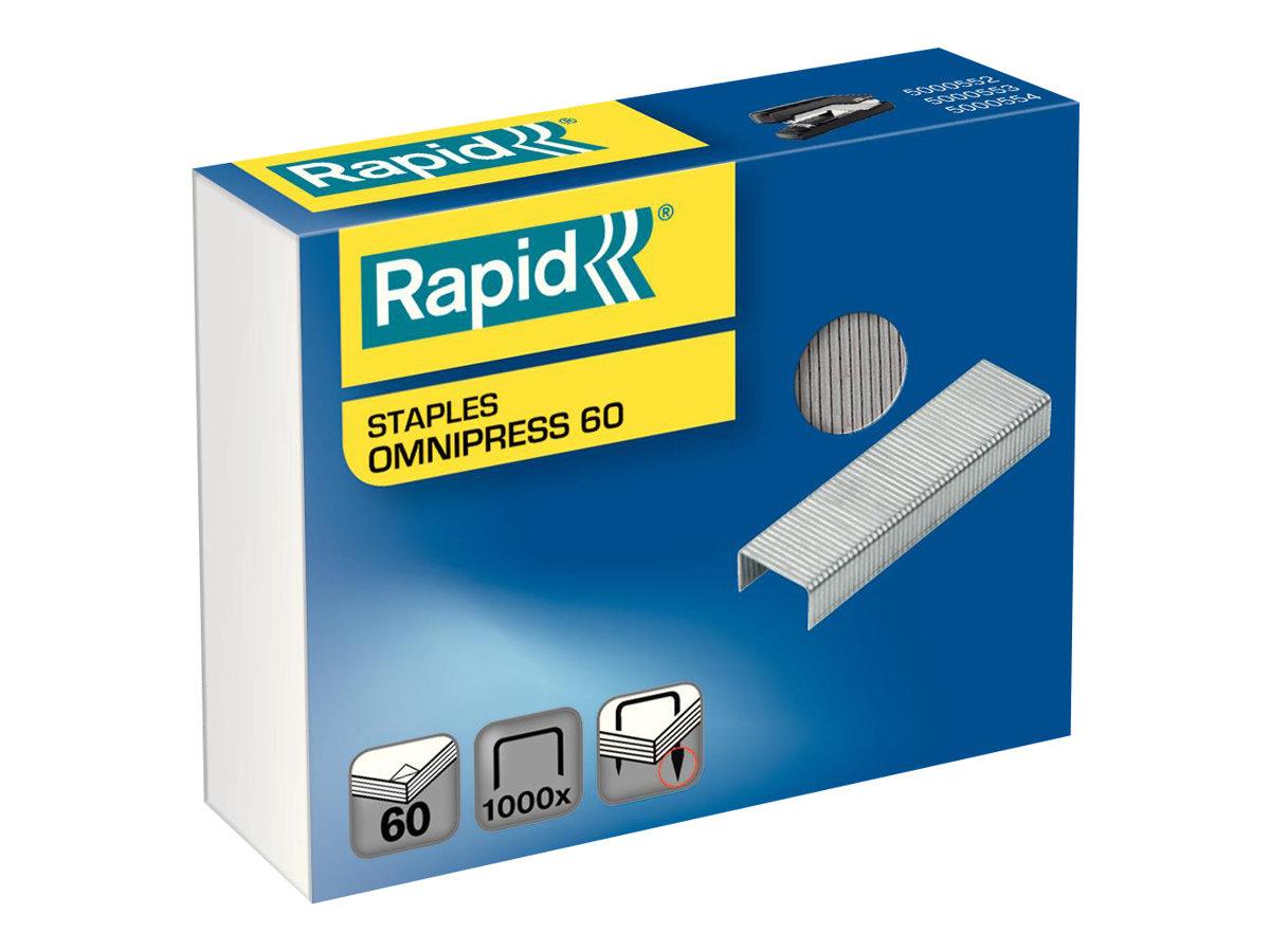 Rapid Omnipress 60 - agrafes