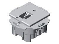 Zásuvka, UTP zásuvka UMJ pod omítku 1xRJ45 kat.5E bílá