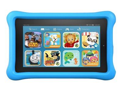 "Amazon Fire - Kids Edition - tablet - Fire OS 5 (Bellini) - 16 GB - 7"" IPS (1024 x 600) - microSD slot - blue"