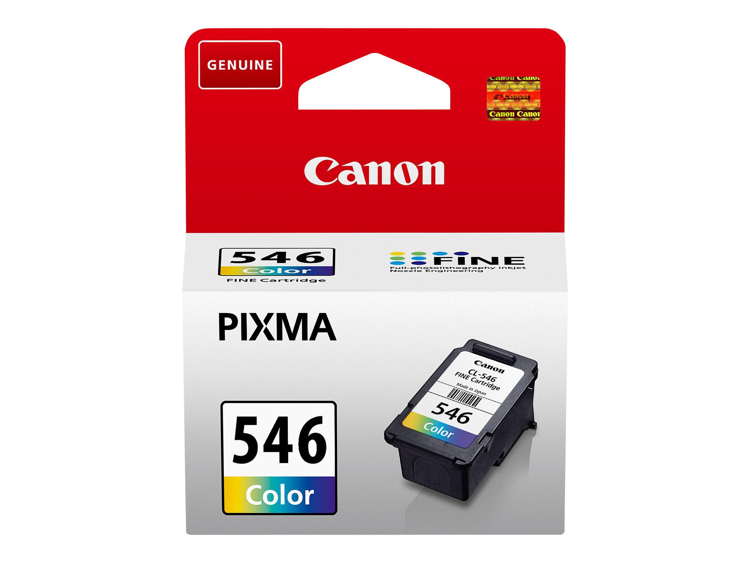 Canon CL-546 - couleur (cyan, magenta, jaune) - originale - cartouche d'encre