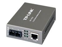 TP-LINK MC110CS - convertisseur de média à fibre optique - Ethernet, Fast Ethernet