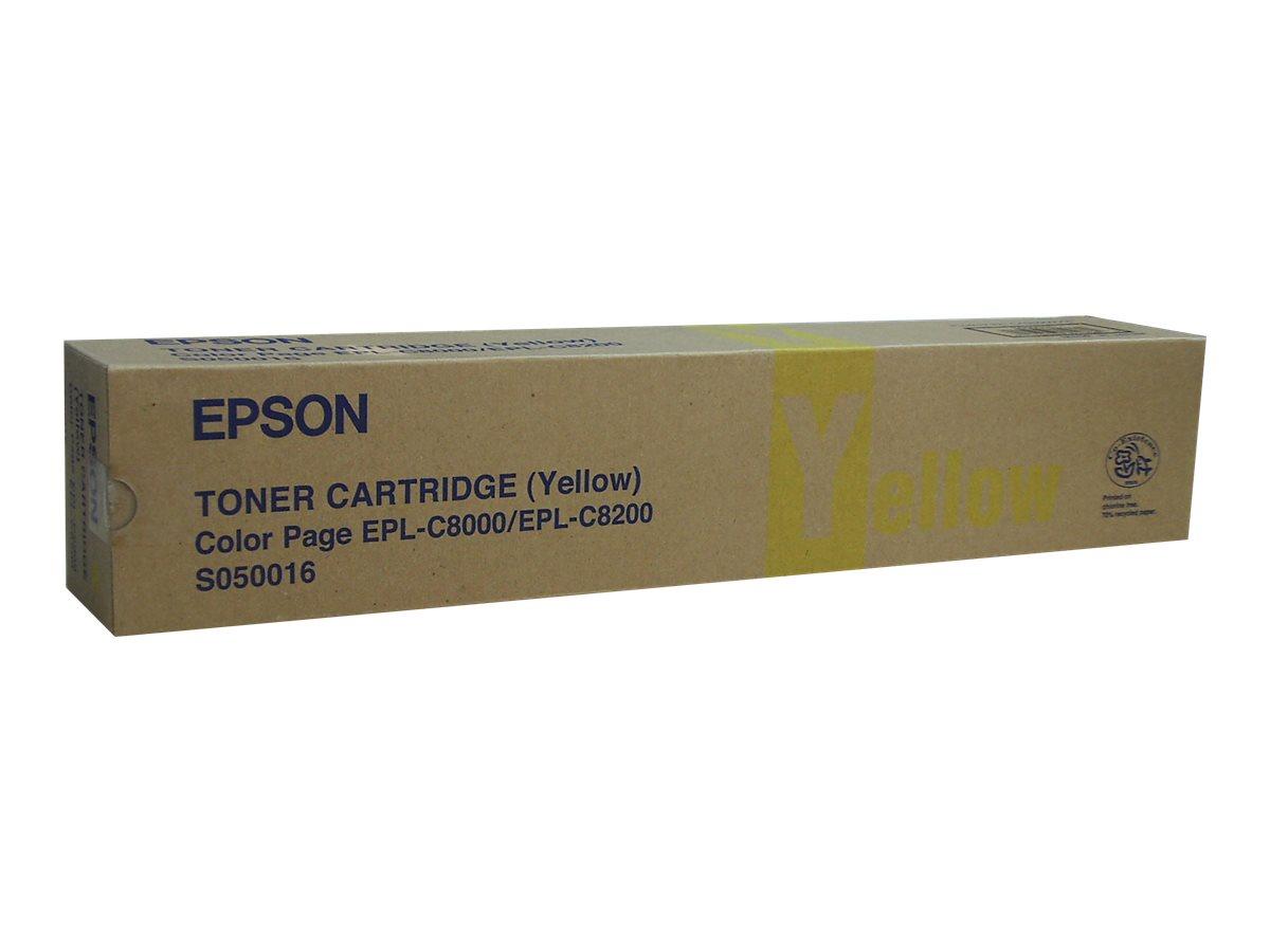 Epson S050016 - jaune - originale - cartouche de développeur