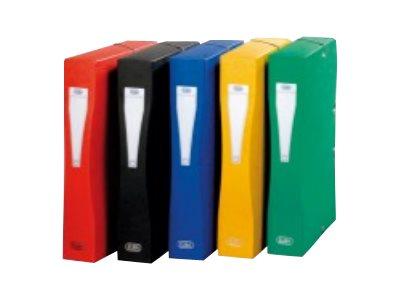 ELBA Eurofolio - Boîte de classement - 80 mm - couleurs assorties