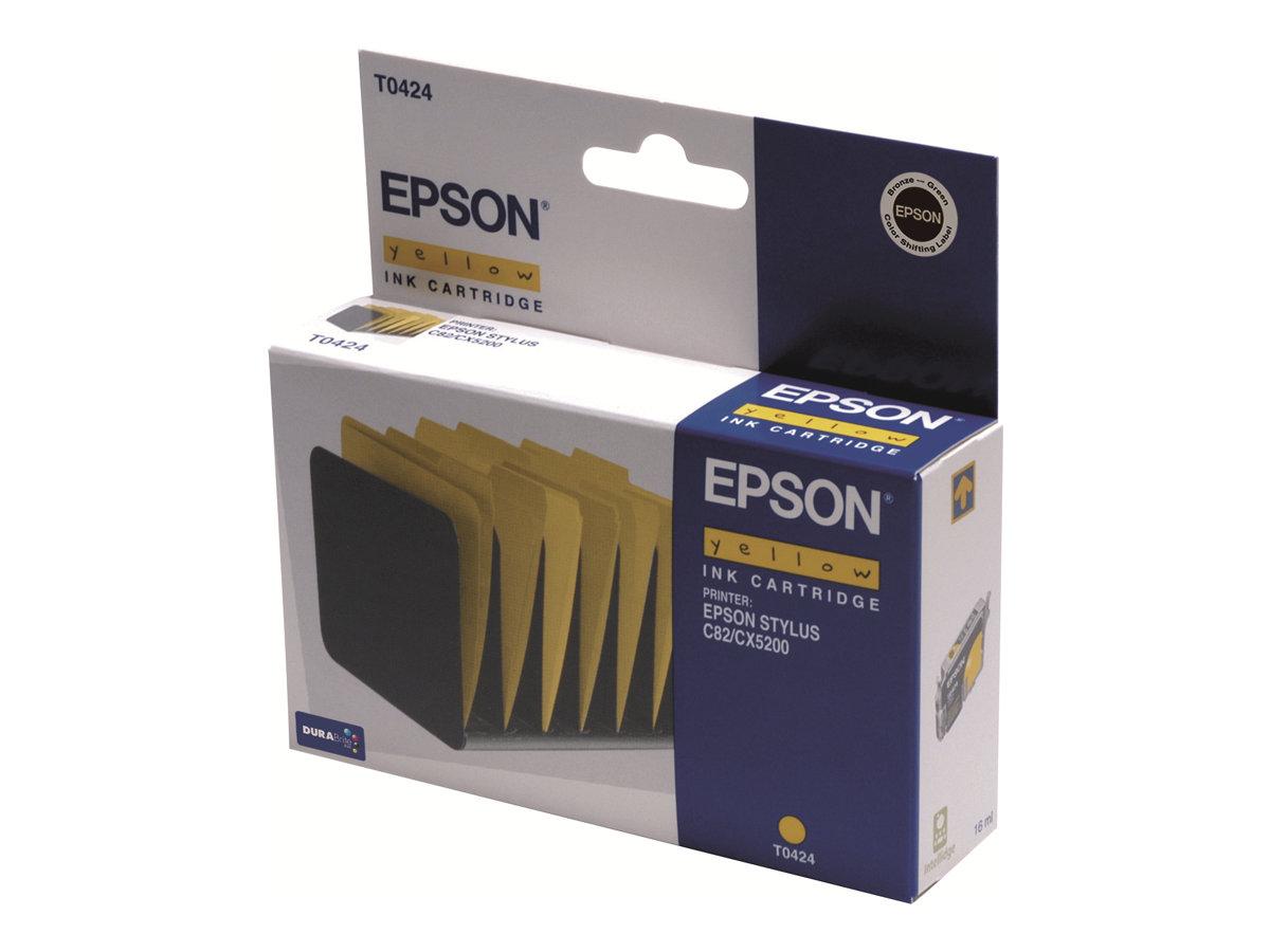 Epson T0424 - jaune - originale - cartouche d'encre