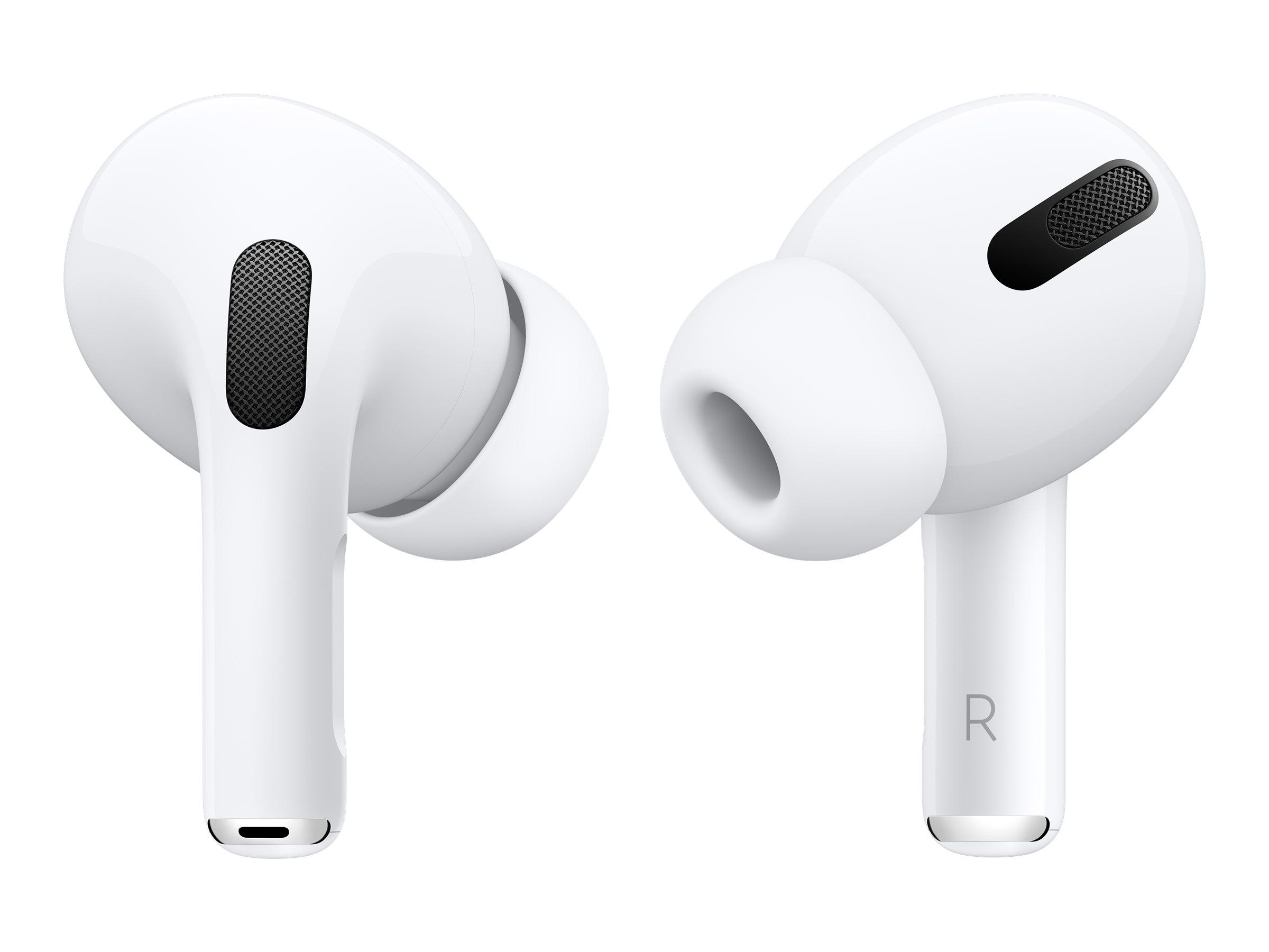 Image de Apple AirPods Pro - Véritables écouteurs sans fil avec micro - intra-auriculaire - Bluetooth - Suppresseur de bruit actif - pour iPad/iPhone/iPod/TV/Watch