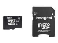 Integral UltimaPro - carte mémoire flash - 32 Go - microSDHC UHS-I