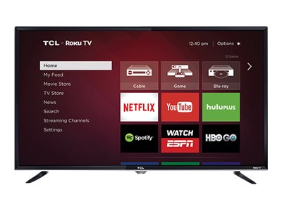 TCL 40FS3800 40-Inch 1080p Roku Smart LED TV