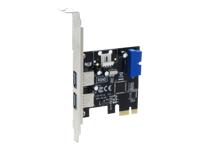 Sedna SE-PCIE-USB3-4-20E USB-adapter PCIe 2.0 USB 3.0 4 porte