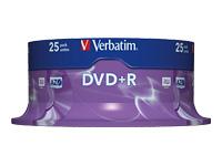 Verbatim DataLifePlus - DVD+R x 25 - 4.7 Go