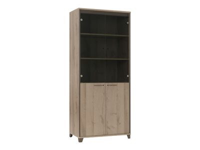 Armoires rideaux de rangement de bureau prix discount bureau vall e - Armoire bureau discount ...