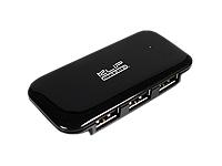 Remate KlipX Hub Slim 4 Ports 2.0 USB Black