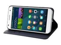 Muvit Wallet Folio - Protection à rabat pour Huawei Ascend G7 - noir