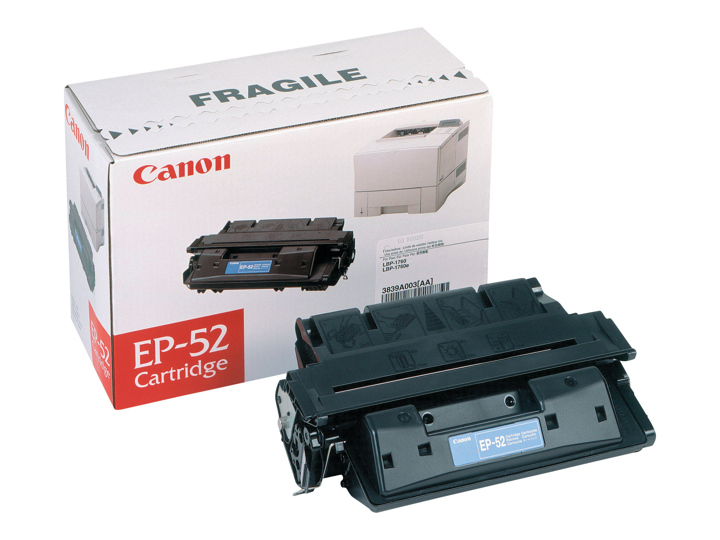 Canon EP-52 - noir - originale - cartouche de toner