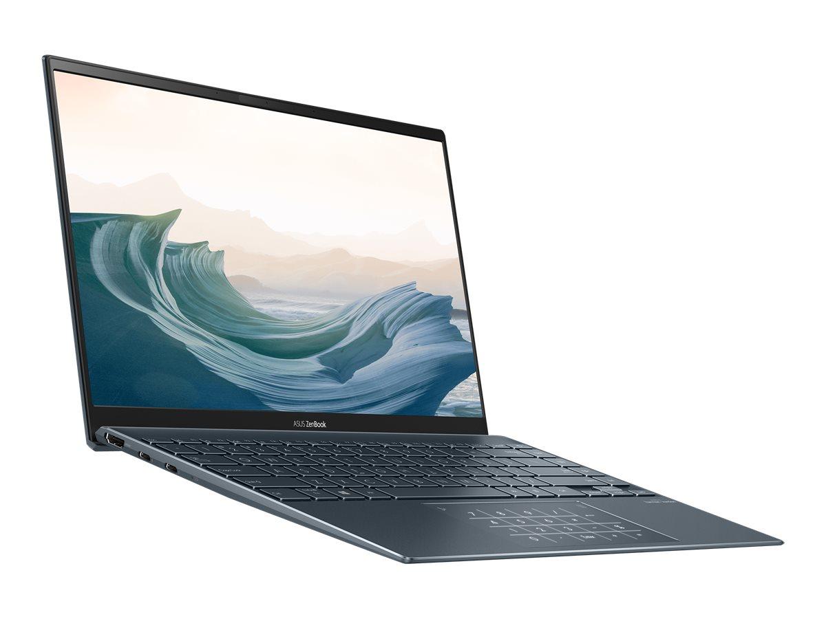 """Image de ASUS ZenBook 13 BX325JA-EG120R - Core i5 1035G1 / 1 GHz - Win 10 Pro - 8 Go RAM - 256 Go SSD NVMe - 13.3"""" IPS 1920 x 1080 (Full HD) - UHD Graphics - Bluetooth, Wi-Fi 6 - gris métallique (couvercle LCD), gris metallisé (contour clavier)"""