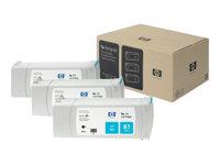 HP Cartucho de tinta cian (n�81) 680mlC5067A