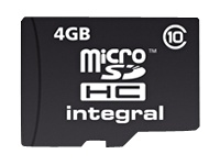 Integral Europe Cartes mémoires INMSDH4G10-20V2