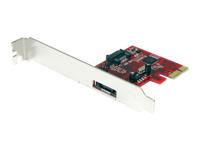 StarTech.com Adaptateur de carte controleur SATA PCI Express 1x eSATA + 1x SATA 6 Gbps