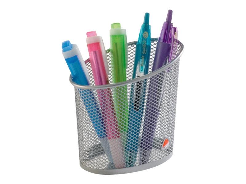 ALBA - Pot à crayons - maillon métallique - différents coloris disponibles