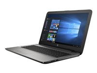 """HP 15-ba083nr - A8 7410 / 2.2 GHz - Windows 10 Home - 4 GB RAM - 1 TB HDD - DVD SuperMulti - 15.6"""" touchscreen 1366 x 768 (HD) - Radeon R5 - textured linear grooves with horizontal brushing in turbo silver - kbd: US"""