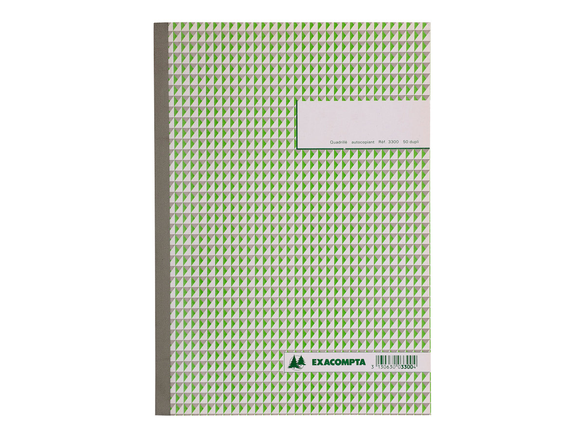 Exacompta - Manifold de duplicata - 50 pages - A4 - en double